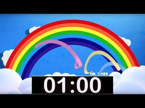 1 minute countdown timer with music